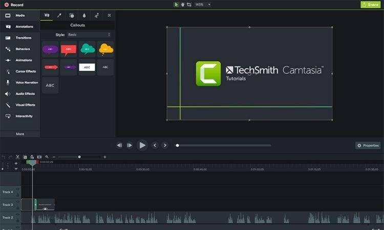 Cách sử dụng Camtasia để quay màn hình