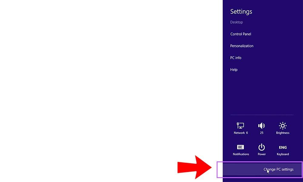 Đặt password Win 8 và 8.1 (Bước 1)