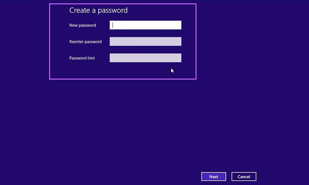 Đặt password Win 8 và 8.1 (Bước 3)