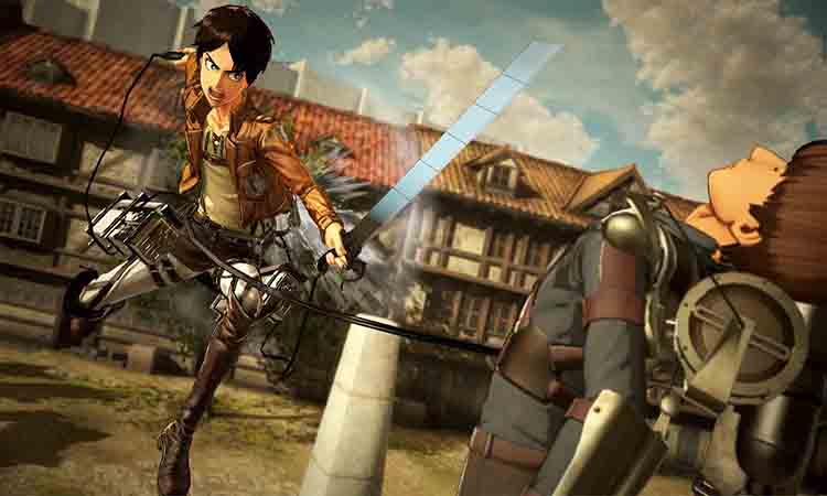 Bối cảnh game Attack On Titan Wings Of Freedom