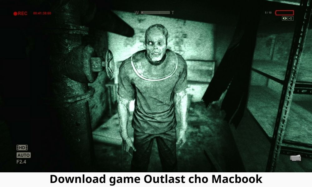 Download game Outlast cho Macbook