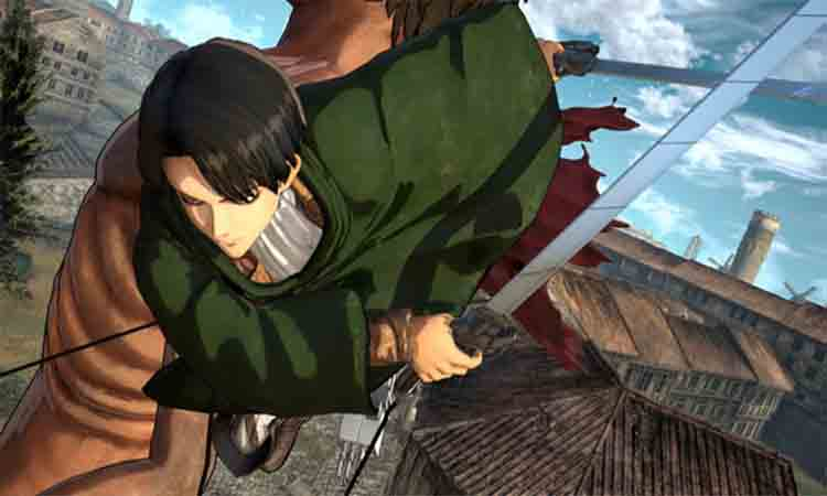 Lối chơi trong Attack On Titan Wings Of Freedom