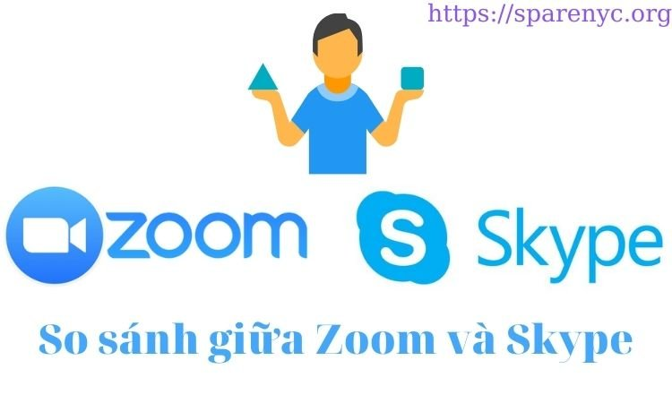 So sánh Zoom và skype