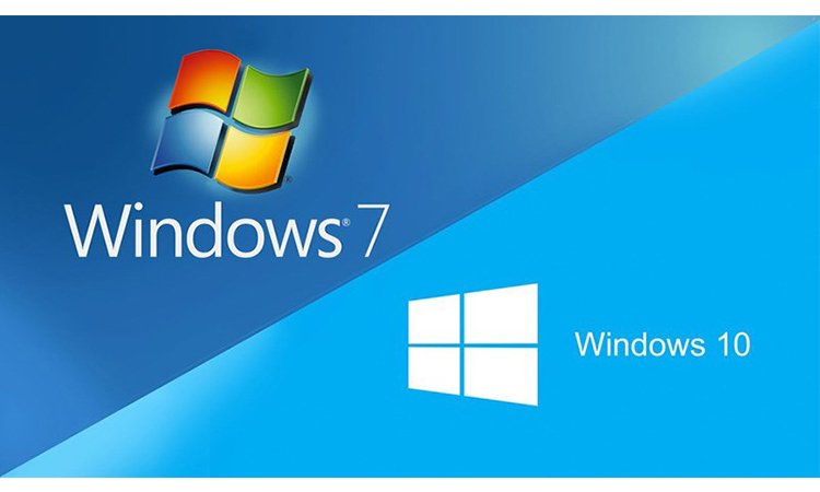 So sánh giữa Windowns 10 và Windows 7