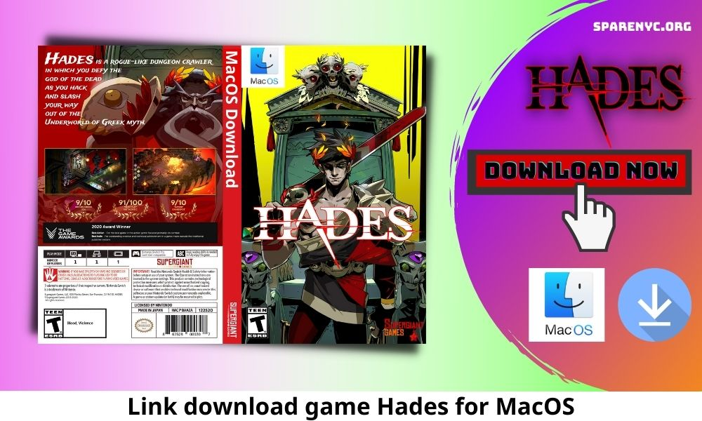 Link download game Hades for MacOS