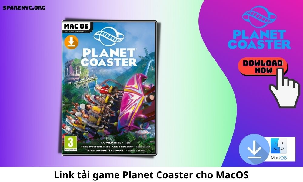 Link tải game Planet Coaster cho MacOS